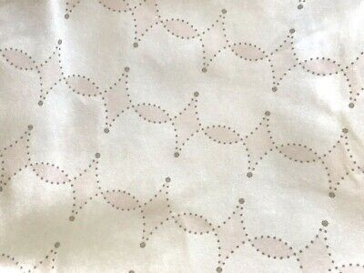 Serena & Lily Girls Scroll Crib Sheet Soft Baby Pink Fitted Cotton