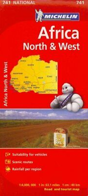 Michelin Africa North & West Map 741 by Michelin 9782067172159