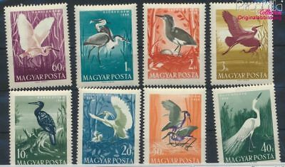 Hongarije 1593A-1600A (compleet Kwestie) postfris MNH 1959 Vogels (9266629