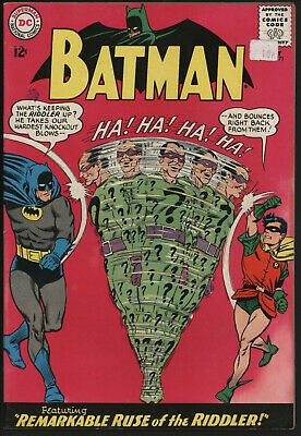 BATMAN #171 MAY 1965. 1st SILVER AGE RIDDLER! NICE PAGES