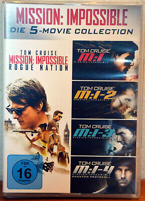 Mission Impossible - Die 5 Movie Collection - 5 DVD's - 2016