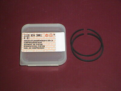NEW OEM STIHL Concrete Cut-Off Saw Piston Rings TS 50 510 TS510 1115-034-3001