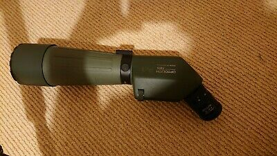 OPTOLYTH TBS80 Telescope, 2nd gen HD fluorite lens, 20-60x, Tripod, carry case
