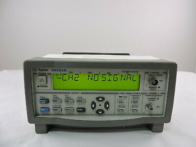 Agilent 53151A CW Microwave Frequency Counter, 26.5GHz - 90 Day Warranty