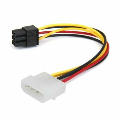 3 Pin Female Y-Splitter Dual Male Power Sleeved Cable Computer Case Fan BHCA