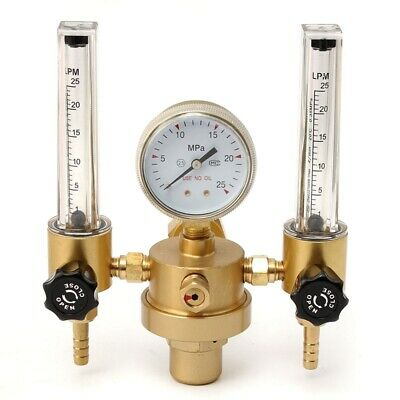 Argon CO2 Gauge Pressure Regulator Mig Tig Flow Meter Control Valve Welding G T9