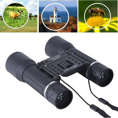 Day Night Vision Binoculars 40 x 60 Zoom Outdoor Travel Hunt Folding Telescope