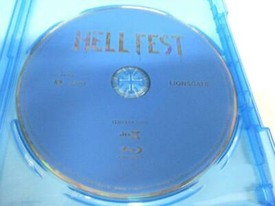 Hell Fest (Blu-ray Disc, 2018) 1 Disc Only Never Viewed NO CASE