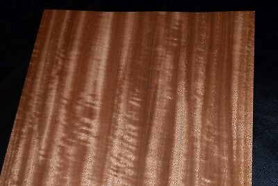 Mahogany Wood Veneer Sheets 8 x 30  inches 1/42nd                  F8634-9
