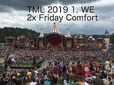 2 x Tomorrowland Ticket 2019 Magical Friday COMFORT Pass 1. WE #2