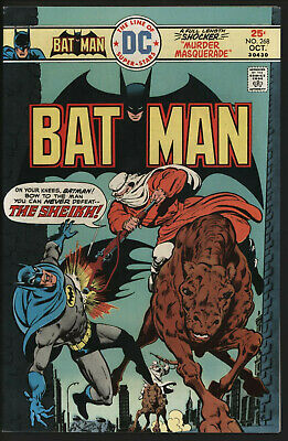 Batman #268 Oct 1975. Vs The Sheikh. White Pages