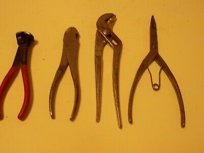 Snap-On Pliers Lot (3) And More  Lot