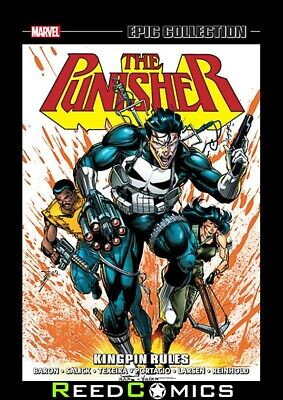 PUNISHER EPIC COLLECTION KINGPIN RULES GRAPHIC NOVEL (496 Pages) New Paperback