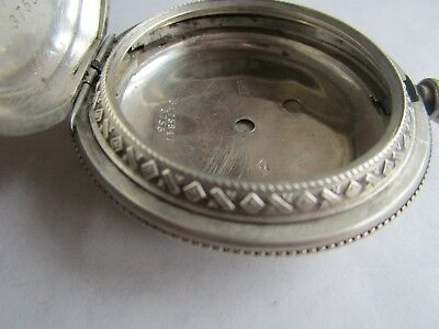 Ottoman Empire, Silver Watch Case, Perfect, Bracelet, Springs, Everything, RRR!