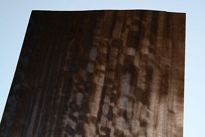 Fumed Eucalyptus Raw Wood Veneer 8 x 27 inches            F8634-18