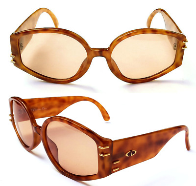 aedaa4a097f4c NEW VINTAGE Christian Dior 2603A Women Sunglasses Freckled Optyl Frames 80s  Cd