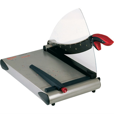 Maped Automatic Guillotine A4 Trimmer Knife Paper Cutter Metal Base
