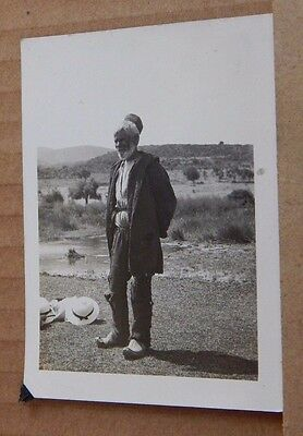 Photograph Social History Egyptian Farmer in field  1930's