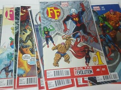 Fantastic Four Comic Lot marvel now 2013 1-11 variant #1 nm bagged boarded