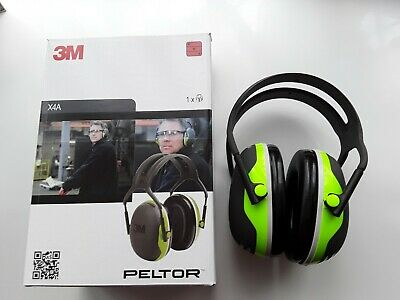 3M Peltor X4A Ear Muffs Headband  Ear Defenders  brand new in the box