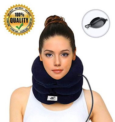Hodilu Cervical Neck Traction Device – Improve Spine Alignment to Reduce Neck –