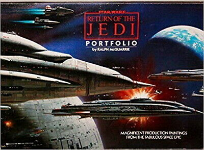 1983 Star Wars:Return of Jedi Ralph McQuarrie Portfolio-Warehouse Find- SEALED!