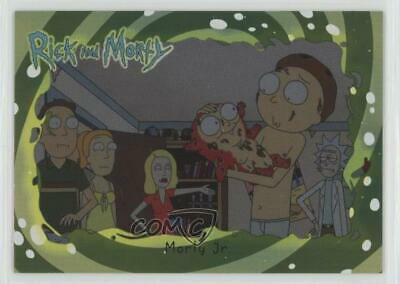 2018 Cryptozoic Rick and Season 1 Foil #26 Morty Jr Non-Sports Card j7y