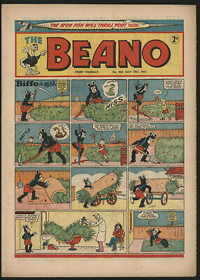 Beano #469, July 14Th 1951, Exceptional Condition, Stunning!