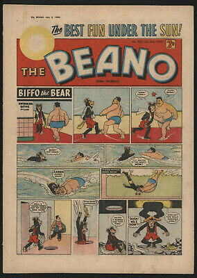 Beano #937, July 2Nd 1960, Very Nice Condition