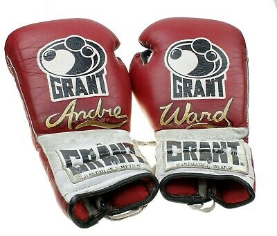 Grant Boxing Gloves Authentic 16 oz Vintage Boxer Andre Ward Handmade Mexico