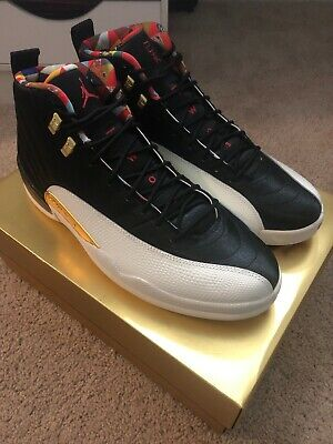 Size 13 ONLY! Nike Air Jordan Retro XII 12 Chinese New Year 2019 Lunar CNY DS