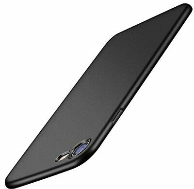 Iphone 7/8 Case Ultra-Thin Cover with Tempered Glass Screen Protector Luxury