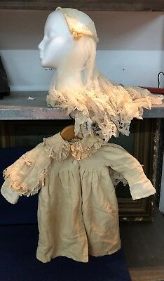 Scarce Late 1800s Early 1900s Lace Infant Dress