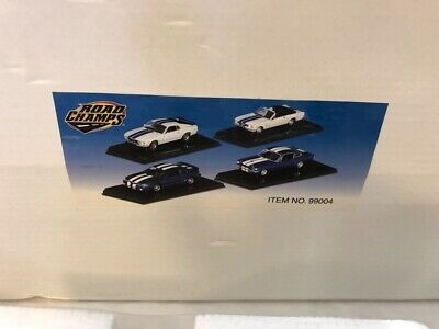 Road Champs 1/43 Classic Mustang Set of 4