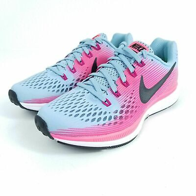 7e22d67479f7a3 NIKE Air Zoom Pegasus 34 Womens Multiple Sz Running Shoes Teal Pink 880560  406