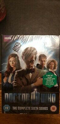 Doctor Who Complete Sixth 6 Series Season - DVD NEW & SEALED