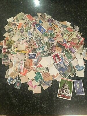 2000 All World Off Paper Collection / Mixture Stamps