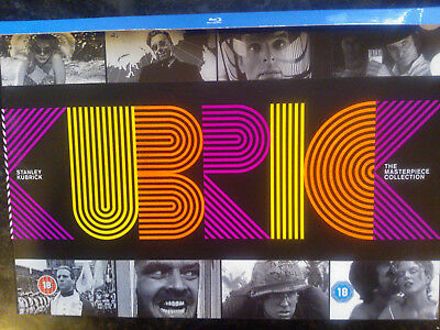 Stanley Kubrick: Masterpiece Collection Boxset [Blu-ray] Rare Oop All-Region