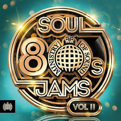 80S Soul Jams Vol. II - Ministry Of Sound - New 3 CD Box Set / Free Delivery
