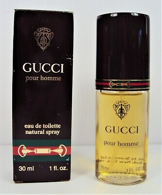 Gucci Pour Homme CLASSIC 1.0 oz  30 ml EDT Spray NEW with BOX  VINTAGE b4bda84ea19