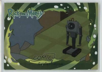 2018 Cryptozoic Rick and Morty Season 1 Foil #33 Existentialism Card 2o7