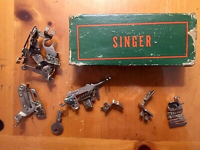 Vintage Singer Accessories For Portable Electric Sewing Machine 221-1