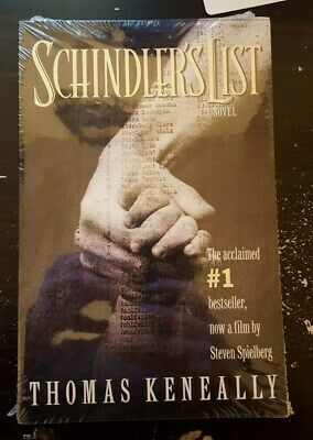 Schindler's List by Tomas Keneally Sealed Paperback