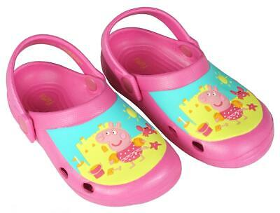 Girls Official Authentic Flip Flop Orange Peppa Pig All Sizes