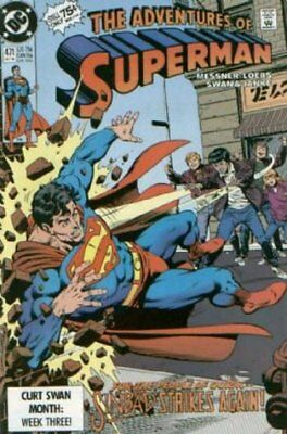 Adventures of Superman (Vol 1) # 471 (VryFn Minus (VFN DC Comics AMERICAN