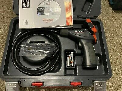 RIDGID CA-25 Micro SeeSnake Hand Held Inspection Camera 40043 RID40043