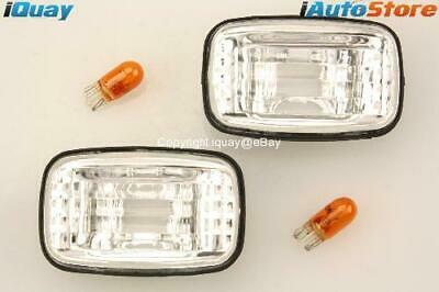 for Toyota Landcruiser 80 100 Hilux Clear Side Indicators
