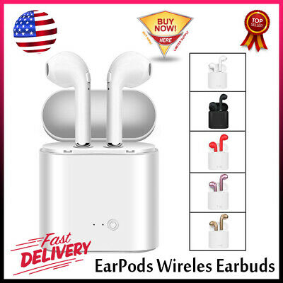 NEW-Apple-Earpods Wireles Earbuds Bluetooth Headphones For-Apple-Airpods-iPhone
