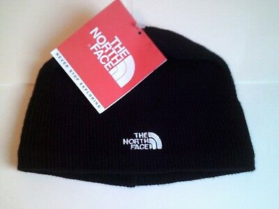 0b876aaba27 The North Face Black Knit Bones Beanie Unisex One Size NWT