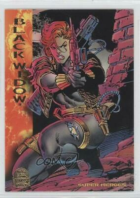 1994 Fleer Marvel Universe Series 5 #144 Black Widow Non-Sports Card 0w6